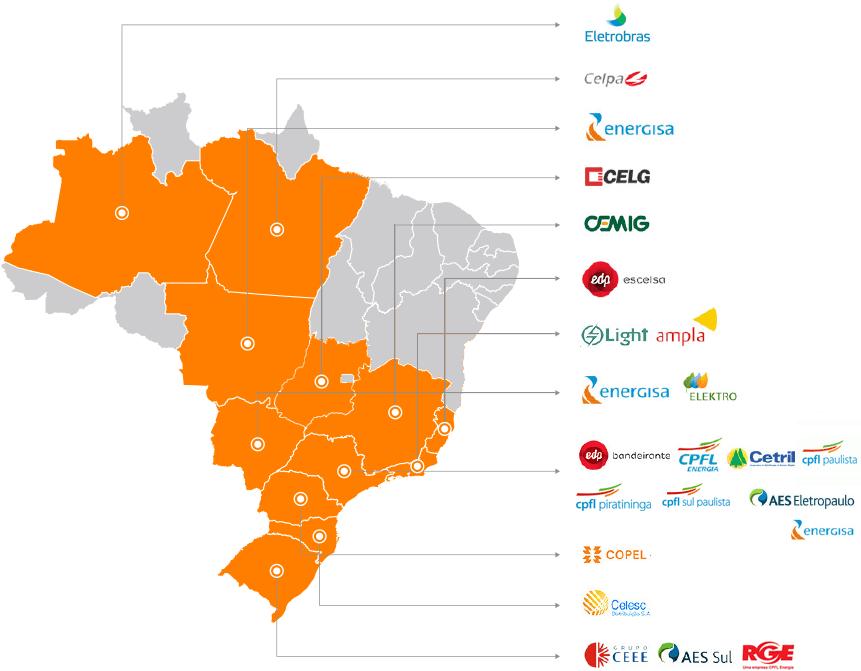 Solar Energy do Brasil Projetos de Geração Distriuída em mais de 24 Concessionárias